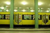 Detenido en la estación de metro — Foto de Stock