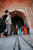 Jama masjid in delhi — Stock Photo
