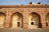 Arches at Humayun Tomb, Delhi, India — Stock Photo
