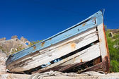 Rotting fishing boat — Stock Photo