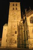 Kostelní věž, munster, německo — Stock fotografie