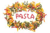 Pasta confetti — Stock Photo