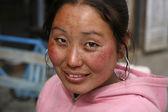 Young nepali woman — Stock Photo