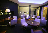 Stylish lounge bar — Stockfoto