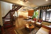 Luxury suite room in hotel — Stock Photo