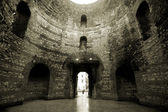 Vestibule interior in the Diocletian palace in Split, Croatia — Stock Photo