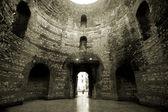 Vestibule interior in the Diocletian palace in Split, Croatia — Stock Photo
