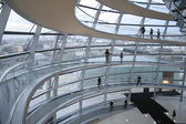 Passage in the reichstag, berlin, germany — Stock Photo