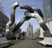 Berlin sculpture, berlin, germany — Stock Photo
