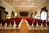 Luxurious conference hall in hotel — Stock Photo