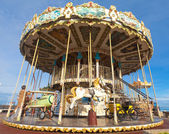Carousel - merry-go-round — Stock Photo