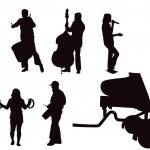 Постер, плакат: Musicians