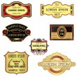Collection Of Retro Style Labels - Stock Vector