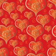 Stockvektor : Heart Seamless Pattern