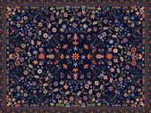 花のじゅうたん — ストックベクタ