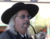 účastník helldorado, náhrobek, arizona — Stock fotografie