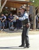 A Gunfighter at Helldorado, Tombstone, Arizona — Stock Photo