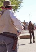 A Gunfight During Helldorado, Tombstone, Arizona — Stock Photo