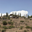 Arcosanti, an Experiment in Urban Architecture — Foto de Stock