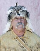 A Mountain Man at Helldorado, Tombstone, Arizona — Stock Photo