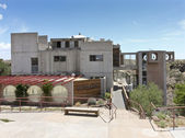 Arcosanti, an Experiment in Urban Architecture — Stock Photo