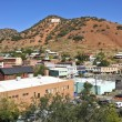 A View of the 'B' Over Bisbee, Arizona — Stock Photo