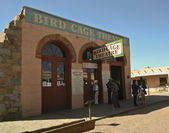 A View of the Bird Cage Theatre, Tombstone, Arizona — Stock Photo