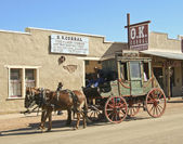 A Stage at the OK Corral, Tombstone, Arizona — Stock Photo