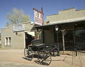 A Wagon at the O.K. Corral, Tombstone, Arizona — Stock Photo