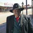 A Participant of Helldorado, Tombstone, Arizona - Stock Photo