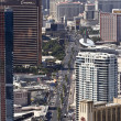 Royalty-Free Stock Photo: Aerial View of the Famous Strip, Las Vegas