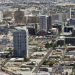 Stock Photo: Aerial View of Downtown, Las Vegas