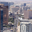 Aerial View of the Famous Strip, Las Vegas — Stock Photo #8096758