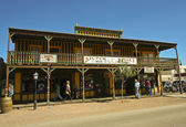 A View of the Silver Nugget, Tombstone, Arizona — Stock Photo