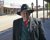 A Participant of Helldorado, Tombstone, Arizona — Stock Photo