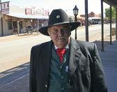 A Participant of Helldorado, Tombstone, Arizona — Stock Photo