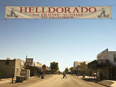 A View of Helldorado, Tombstone, Arizona — Stock Photo