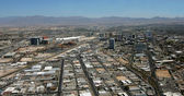 Aerial View of Downtown Las Vegas, Nevada — Stock Photo