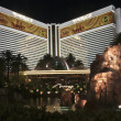 A View of the Mirage Hotel and Casino - Stock Photo
