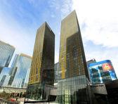 вид лас-вегас citycenter и лавируйте башни — Стоковое фото
