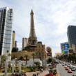 Stock Photo: Busy Las Vegas Boulevard on sunny day