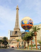 A sunny shot of Paris on the Strip — Stock Photo