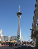 A View of the Stratosphere Hotel and Casino — Stock Photo