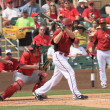 Stock Photo: ArizonDiamondbacks Left Handed Batter Kelly Johnson