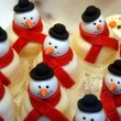 Batch of Candy Snowmen — Stock Photo #8176422