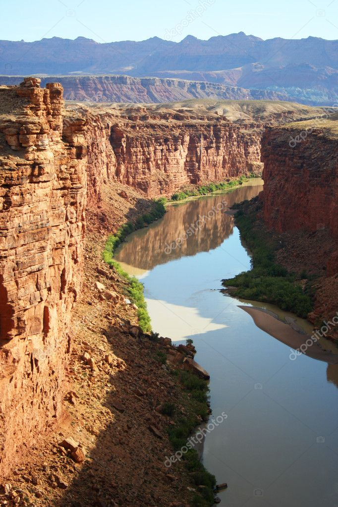 Above Lee's Ferry, on the Colorado River, Arizona — Stock Photo #8177321