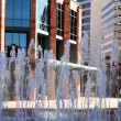 Stock Photo: Fountain in Downtown Hotel Plaza