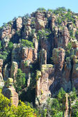 A View of Rock Formations at Chiricahua Monument — Stock Photo