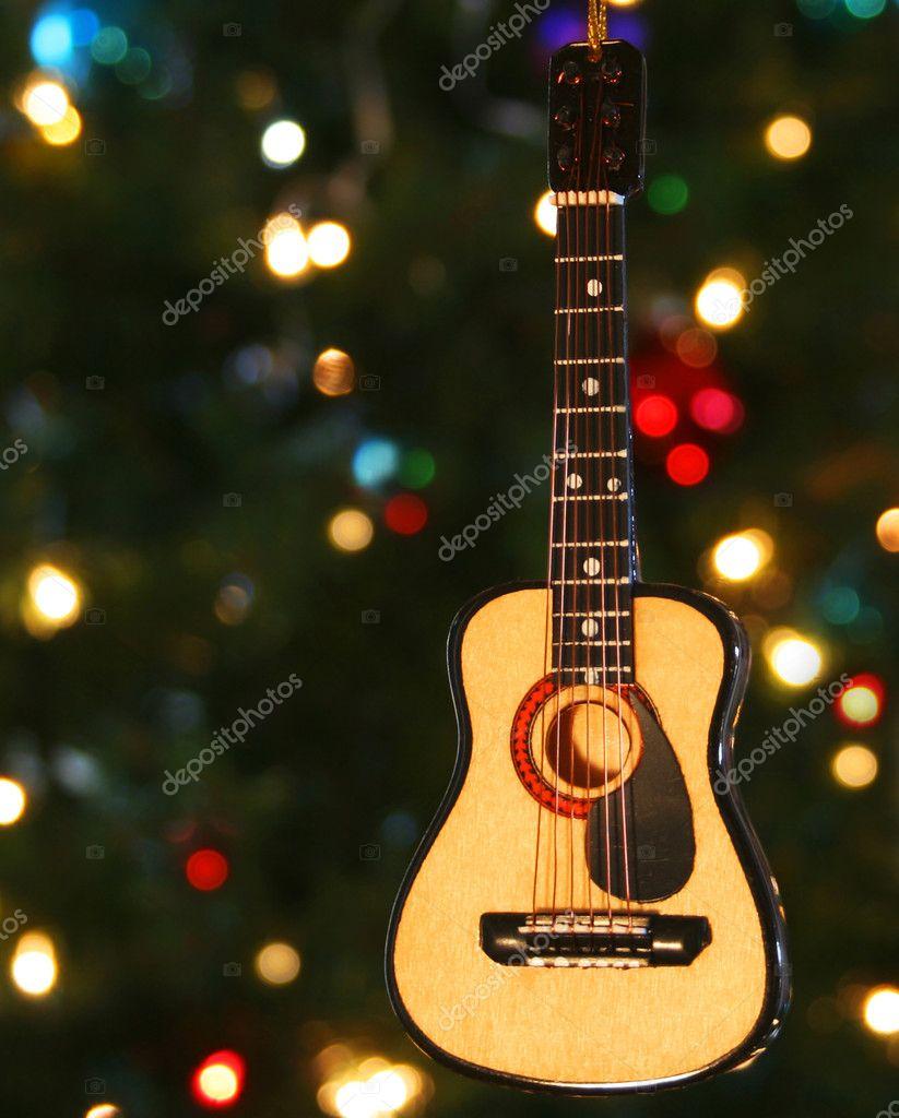 Елочка с гитарой своими руками