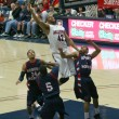 Air Shot of Jamelle Horne in ArizonBasketball Game — Stock Photo #8293743